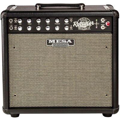 mesa boogie amplifiers mini dual rectifier recto verb 25 guitar amp combo black 809404119451 ebay. Black Bedroom Furniture Sets. Home Design Ideas