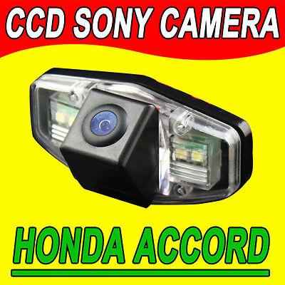 Navinio Backup Camera for Car Waterproof Rear-view License Plate Car Rear Backup Parking Camera for Honda Accord civic Odyssey pilot acura TSX Night version