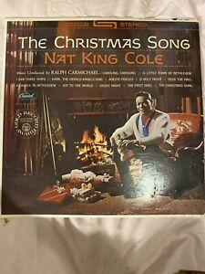 NAT KING COLE THE CHRISTMAS SONG SW1967 LP VINYL   eBay