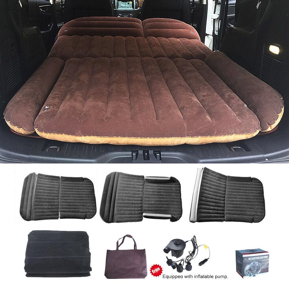 SUV Aufblasbare Luftmatratze Luftbett Matratze Bett für Auto Rücksitz mit Pumpe