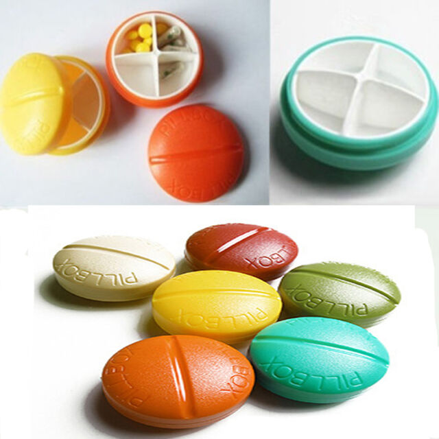 New Fashion Travel Camping Necessary Pill Box Holder Medicine Storage Dispenser