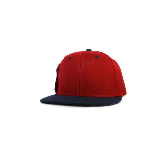Unisex Mens Womens Boys Plain Pattern Solid 13 Colors Baseball Cap Snapback Hats