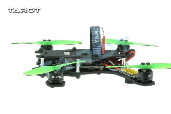 Tared Mini 130 4-Axis Carbon Fiber FPV Mini Racing Multicopter Kit - TL130H1