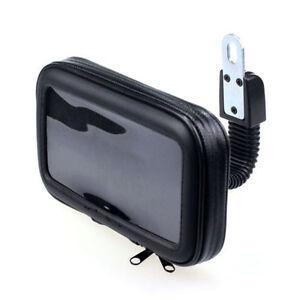 Handy-GPS-Etui-Halter-Etui-fuer-Motorrad-Farrad-Wasserdicht-Tasche-Halterung-XL