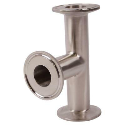 Sanitary SS304 Instrument TeeTri Clamp 2 inch 2 Pack