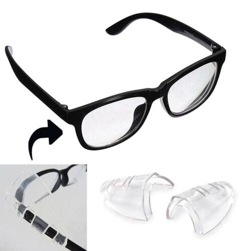 2 Stk Universal Flexibel Weich Seitenschutz Sicherheit Brille Eye Protection Neu