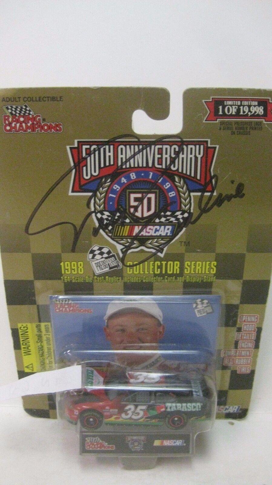 Nascar 50th Anniversary Todd Bodine Autographed Pontiac 1 64 Diecast NEW dc1373