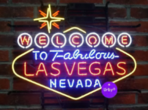"""New Welcome to Fabulous Las Vegas Nevada Beer Bar Neon Light Sign 24/""""x20/"""""""