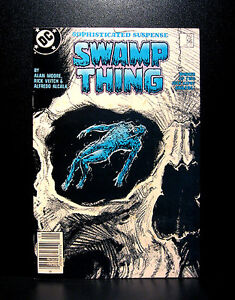 COMICS-DC-Saga-of-the-Swamp-Thing-56-1980s-RARE-batman-alan-moore-flash