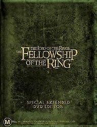The Lord Of The Rings - The Fellowship Of The Ring (DVD, 2002, 4-Disc Set)
