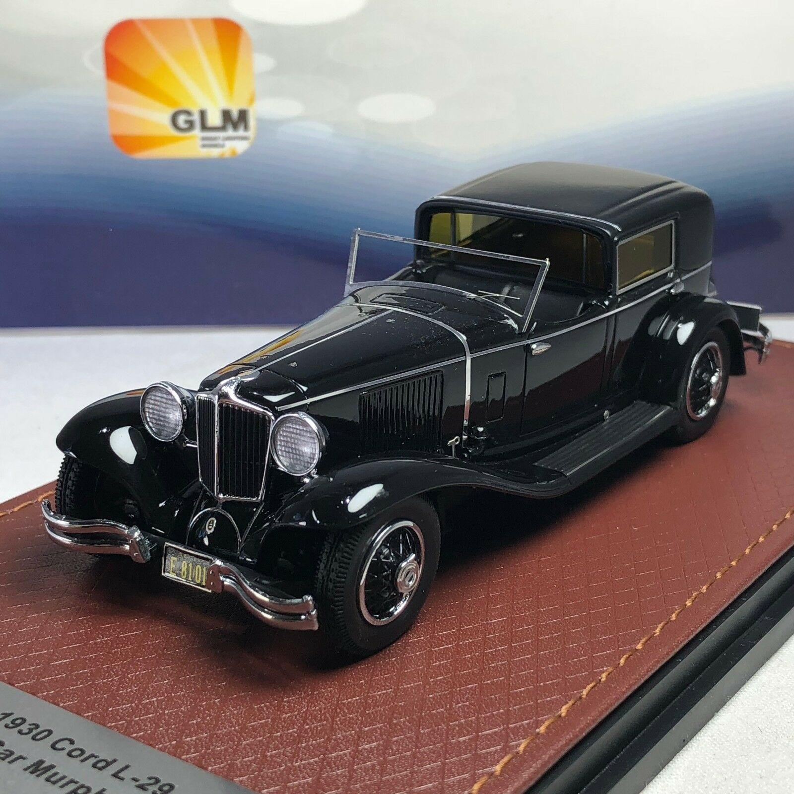 1 43 L29 Cable GLM Town Car Murphy & Co 1930 nero GLM43108101