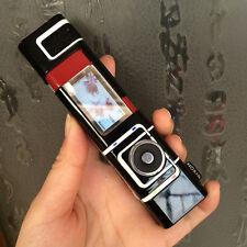 ORIGINAL Nokia 7280 FLIP Black Red 100% UNLOCKED GSM GPS CellPhone WARRANTY FREE