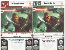 x3 Wookie Warrior Alt Art Card Star Wars Imperial Assault 2017 Official FFG OP