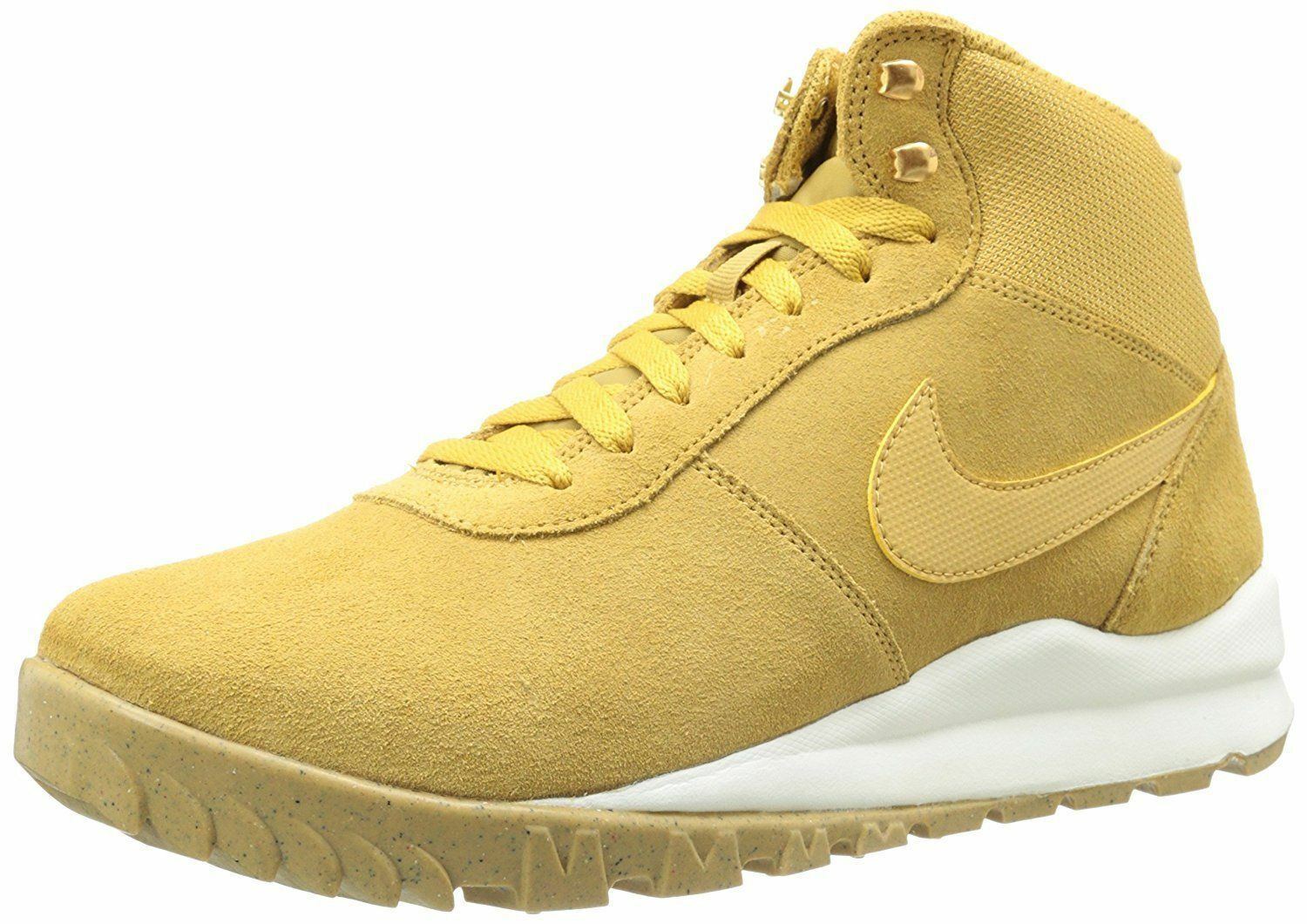 Nike Hoodland Suede Boots Tan White