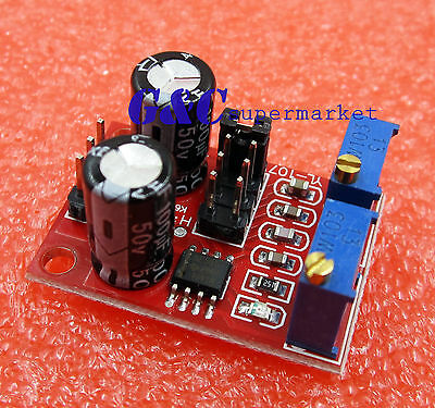 2PCSNE555 Duty Cycle and Frequency Adjustable Module Square rectangular wave