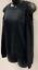 Ultra Flirt Juniors Womens Black Cold-Shoulder Sweatshirt