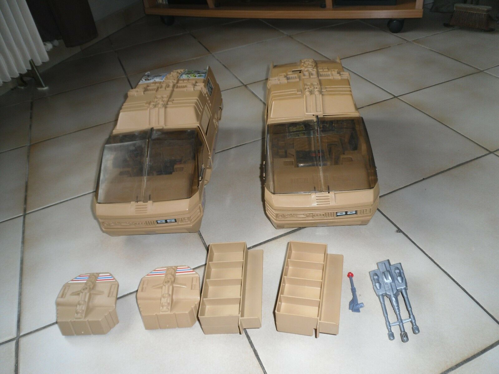 Big jim lot de 2 vehicules
