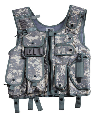 US Security sveglio Protezione SWAT i Gilet inserto gilet paintballweste Carnevale S-XXL