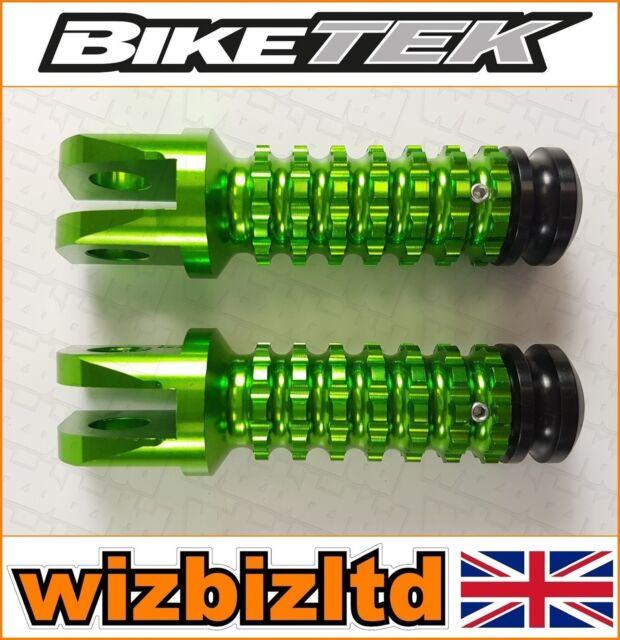 Biketek Verde Premium CNC Delante Estriberas Kawasaki ZX11 1990-2001 FPGKF11GN