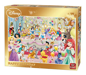Disney-1500-Piece-Jigsaw-Puzzle-Happy-Birthday-Party-Gold-Box-Edition-85523