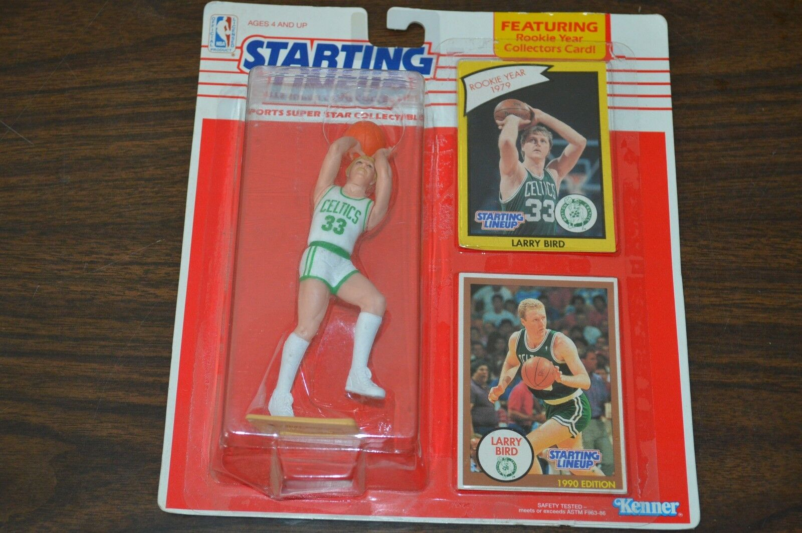 1990 STARTING LINEUP LARRY LARRY LARRY BIRD BASKETBALL PredOTYPE    1 OF 1    MUST SEE    a1af49