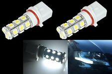 2 AMPOULE P13W A 18 PASTILLE TRIPLE COEUR = 54 LED SMD - BLANC XENON