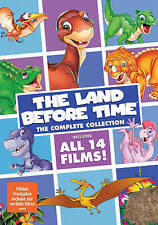 The Land Before Time: The Complete Collection [DVD Box Set, Region 1, 14-Films]