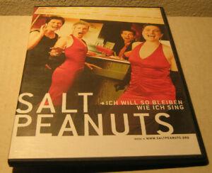 DVD-Salt-Peanuts-gt-Ich-will-so-bleiben-wie-ich-sing-Acapella-ca-15-min-Demo