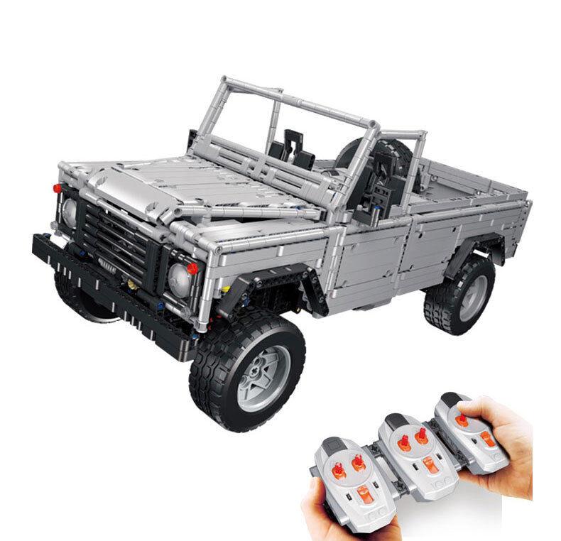 Neu 3643Pcs MOC RC Wild off-road Geländewagen Auto Modell Bausteine Spielzeug