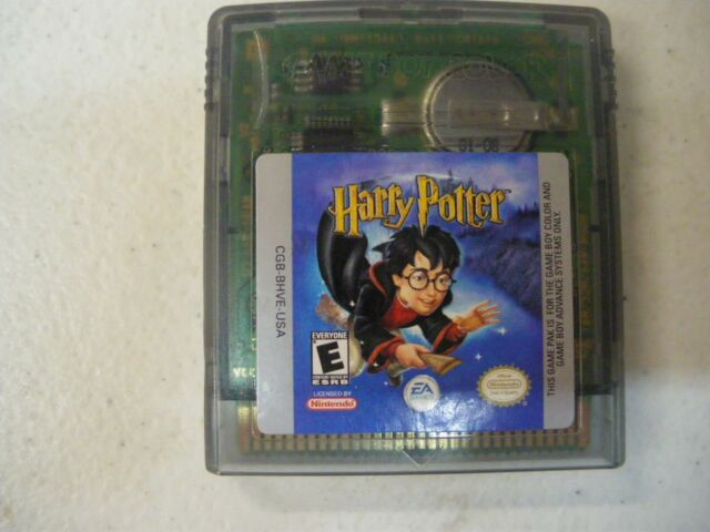 Harry Potter And The Sorcerer S Stone Nintendo Game Boy Color 2001