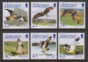 Alderney-2002-Migrating-Oiseaux-Raptors-1st-Series-Ensemble-MNH-Sg-A185