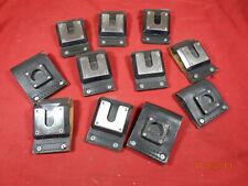 Motorola Vhf Radio D Clip Belt Loops For Various Uhf 800mhz Vhf Radios Lot 10