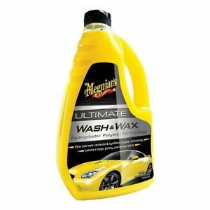 Meguiars-G17748EU-Ultimate-Wash-And-Wax-1-4L-Car-Shampoo-Car-Care-Cleaning
