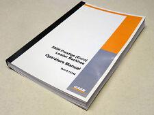 Case 580k Euro Loader Backhoe Operators Manual Owners Maintenance Book New