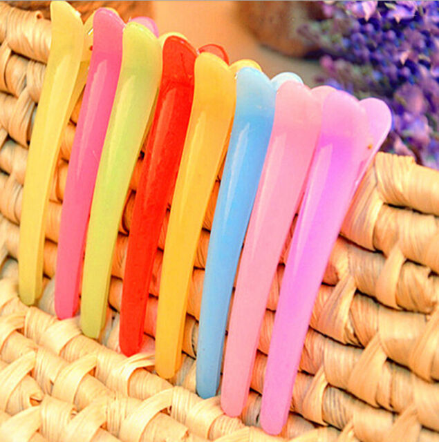5Pcs Fashion Girls Hair Clips Mixed Color Style Hair Accessories Practical 3ME