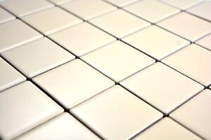Carrelage mosaïque céramique beige mat cuisine bain mur sol 14 ...