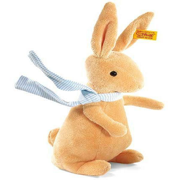 New Steiff Crazy Bunny Rabbit Ideal Gift rotuced Sale Price Happy Easter 080586