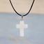 Cross-Natural-Stone-Quartz-Charm-Pendant-Necklace-Women-Men-Jewelry-Choker-Gift