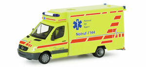 Herpa-H0-047784-Mercedes-Benz-Sprinter-RTW-034-Spital-Uster-034-CH