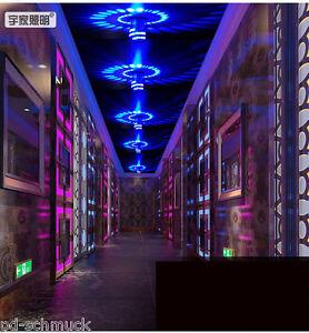 3W-LED-Wandleuchte-Bunt-Wandlampe-Flurlampe-Deckenleuchte-Effekt-Deko-Neu
