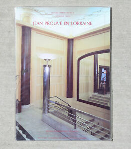 Jean-PROUVE-Architecture-Book-French-Mid-Century-Modern-Eames-1950s-Era-Scarce