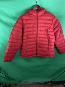 Amazon-Essentials-Women-s-Red-Packable-Down-Jacket-Size-2XL-Nwt