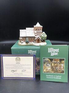 Jubilado-Lilliput-Lane-034-Todos-los-Santos-watermillock-034-con-Caja-Y-Escritura