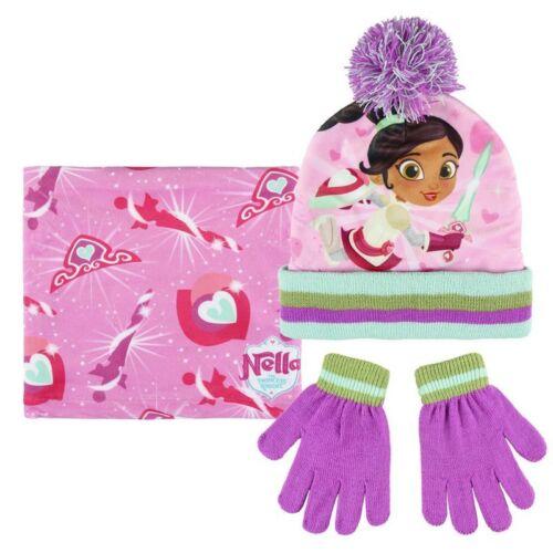 Gloves /& Snood Set Boys Girls Kids Official Licensed Winter Hat