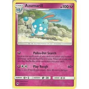 Pokemon-TCG-Card-Azumarill-136-214-Rare-SM8-Lost-Thunder-English