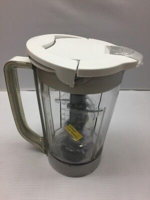 NEW Ninja Kitchen System Pulse 48oz Pitcher+Blade+Lid for BL250 BL206 BL207  whte | eBay