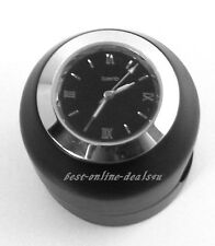 Handlebar Watch-Bike Clock-Motorcycle-Cruiser-Custom Bikes-Trike-Chopper-BK/Face