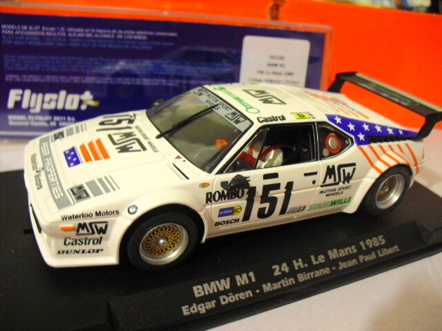 FLY Slot 051101 BMW M1 24hr LE MANS 1985 1 32 Slot Car Racing New New