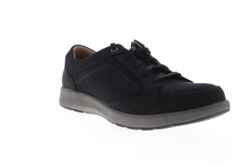 Clarks Un Trail Form 26140978 Mens Black Nubuck Lifestyle Sneakers Shoes 8.5