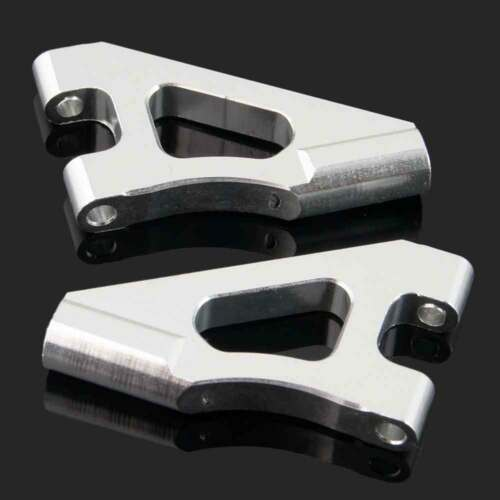 RC 122018(02147)Silver Alum Front Upper Suspension Arm 2P Fit HSP Nitro 1//10 Car